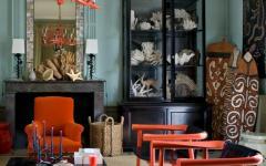 intérieur éclectique séjour maison de campagne