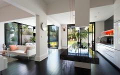 intérieur luxe maison citadine et familiale