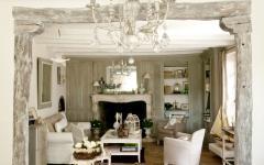 Intérieur design rustique et esthétique maison de campagne