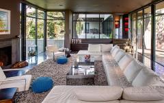 ameublement design séjour moderne maison rénovée