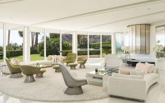 intérieur moderne et élégant en blanc
