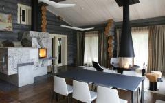 intérieur design luxe maison en bois