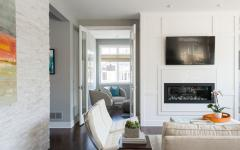 intérieur blanc gris beige maison familiale