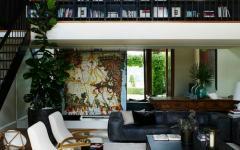 séjour maison moderne de ville