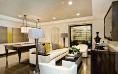 ambiance design moderne séjour multimedia