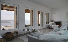 intérieur au design minimaliste villa de luxe