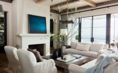séjour déco élégante minimaliste et moderne