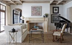 séjour design traditionnel