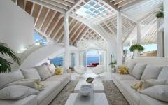 intérieur ouvert villa de luxe