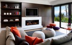 séjour maison moderne d'architecte