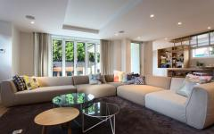 séjour tv design luxe maison de ville