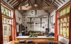 cottage anglais à louer séjour rustique luxe