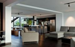 appartement duplex design intérieur homme