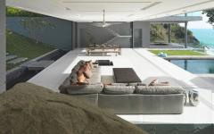 salon séjour résidence de grand standing phuket