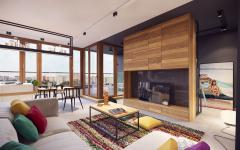 séjour design contemporain minimaliste