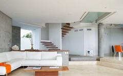 ameublement minimaliste luxe mobilier canapé designer
