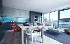 intérieur contemporain appartement de ville