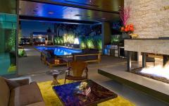 intérieur moderne et contemporain très spacieux
