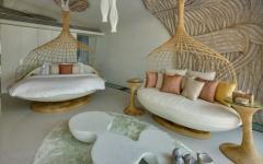 séjour intérieur villa de vacances à louer