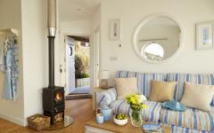 intérieur moderne cottage de vacances à louer