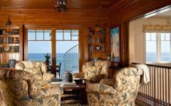 ambiance rustique vue sur mer