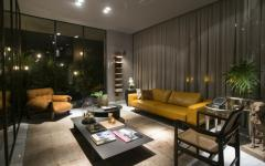 intérieur artistique éclectique villa de vacances