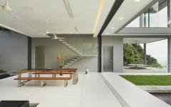 salle à manger séjour espaces communs villa