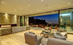 vue superbe depuis le séjour villa de luxe