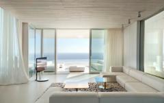 séjour villa contemporaine d'architecte prestige
