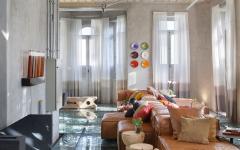 canapé luxe design contemporain maison originale rénovée