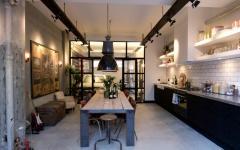 cuisine loft citadin logement design