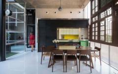 cuisine salle à manger minimalistes