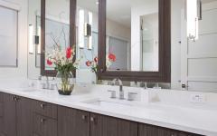 Salle de bain double lavabo