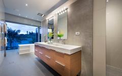 Belle et spacieuse salle de bains luxe