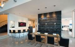 salle à manger résidence contemporaine
