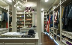 grande spacieux dressing de luxe