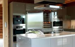 cuisine design rustique et chic