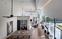 grandes espaces pièce principales loft maison