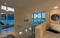intérieur résidence de lac