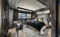 suite de luxe design rustique chic chalet de ski