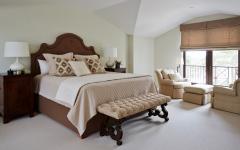 chambre sous toit maison familiale de luxe