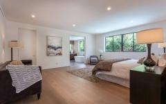 chambre à coucher familiale maison neuve luxe d'architecte