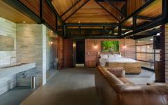 Ameublement et design originale chambre d'amis