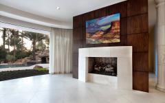 baie vitrée demi-circulaire maison toscane luxe