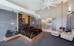 chambre principale maison de luxe australie hautes terres du sud