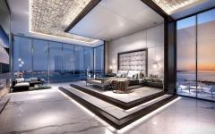 grande et spacieuse suite avec vue sur la mer penthouse