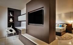 intérieur moderne chambre luxe