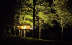 cabane dans le bois écologique