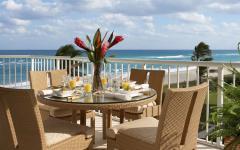 terrasse balcon face à la mer