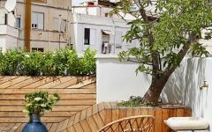 partie outdoor appartement citadin moderne luxe